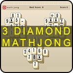 3 Diamond Mathjong
